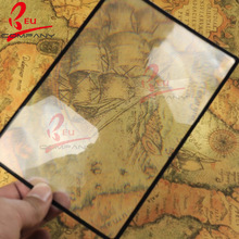 Wholesale New Arrival 3X Magnification Magnifier XL Full Page Magnifying Sheet Fresnel Lens