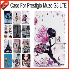 AiLiShi Factory Direct! For Prestigio Muze G3 LTE Case Flip Holder Wallet Leather Case Cover Bag 100% Special Phone Accessories