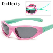 Ralferty Infant Baby TAC Polarized Kids Sunglasses Child Safety Coating Glasses Fashion Outdoor Sport Goggles Shades oculos 873