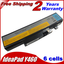 JIGU Laptop Battery L10L6Y01 B560 l09l6d16 For Lenovo for IdeaPad Y460A Y560A Y560P Y560G Y560  4400MAH
