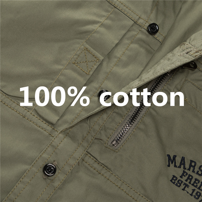 Fredd Marshall Fashion Men's Shirts Spring Cotton Solid Color Long Sleeve Male Shirt with Zipper Pockets Camisa Masculina Plus Size (8)_