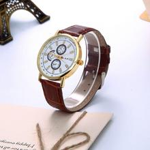 wrist watch Three Patterns Roman Strips Quartz Watch wrist watches for women reloj pulsera mujer