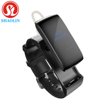 SHAOLIN Smart Band Talkband Bluetooth Smart Bracelet Portable Talk Smartband Active Fitness Tracker For IOS Android Phone