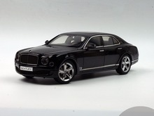 Kyosho 1:18 Bentley Mulsanne Speed 2016 (Black) Diecast Model Car Simulation Model Mini Vehicle Collectable