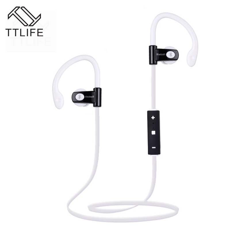 TTLIFE HOT SALE Sport Bluetooth Headphone Sweatproof Wireless Ear-hook  Headset Black of 3 colors<br><br>Aliexpress