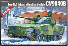 Academy model 13217 1/35 scale CV9040B Infantry Fighting Vehicle plastic model kit