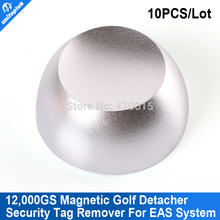 10pcs/lot 12000gs Superlock magnetic security tag detacher Golf Detacher,eas tag detacher remover
