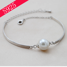 Silver 925 Bracelet Bracelets Empty Care Jewelry DIY Materials Handmade Accessories Pearl Jewelry Making(China)