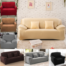 1/2/3/4 Seater Elastic Sofa Cover Sofa Slipcovers Cheap Cotton Sofa Covers For Living Room Sofa Slipcover Couch Cover(China)