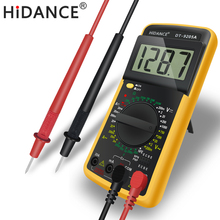 HiDANCE Digital multimeter tester electronic measurement instruments transistor current meter capacitance capacitor tester probe(China)