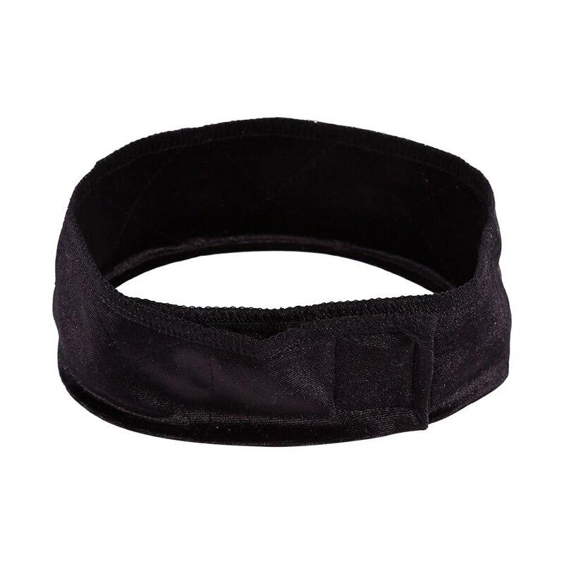 Mayitr 1pc Velvet Hair Band Adjustable Flexible Velvet Fabric Wig Grip Scarf Headband Head Band Fasten Wig 3 Colors