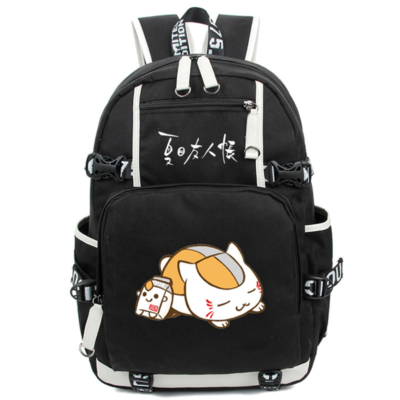 Natsume Yuujinchou Backpack Cartoon Natsumes Book of Friends Knapsack Kawaii Large Capacity Laptop Travel Bags Mochila<br>