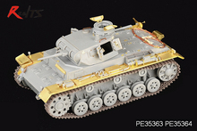 RealTS Voyager model PE35363 1/35 WWII German Pz.KPfw.III Ausf.E/F (For DRAGON Kit)(China)