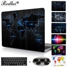 "For New MacBook Pro 13 15 Case 2016 model A1706 A1708 A1707 w/out World Map Plastic Hard Case For Mac Book Air Pro Retina 13 15""(China)"