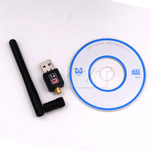 150M Mini PC wifi adapter USB WiFi antenna Wireless Computer Network Card 802.11n/g/b LAN Wireless PC wifi adapter wiht Antenna(China)