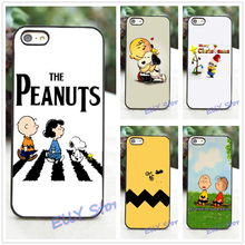 CHARLIE BROWN PEANUTS BEATLES fashion cover case for iphone 4 4S 5 5S 5C SE 6 6 plus 6s 6s plus 7 7 plus #wj68
