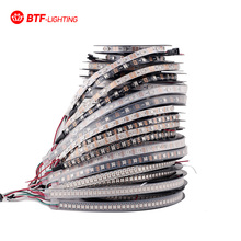 1m/4m/5m WS2812B 30/60/74/90/96/144 pixels/leds/m Smart led pixel strip,Black/White PCB,WS2812 IC;WS2812B/M ,IP30/IP65/IP67 DC5V