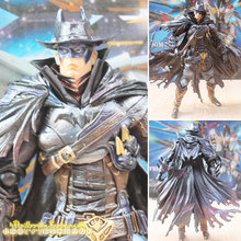 Action Figure West Cowboy Batman Play Arts Kai PVC 28cm KB0614 moverable Movie Bat Man Playarts Kai Collectible Model anime