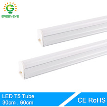 GreenEye Integrated LED Tube T5 Light 220v 240v 300mm 6w 600mm 10w Fluorescent Tube T5 LED Bar Lamp Cold White Warm Light Neon(China)