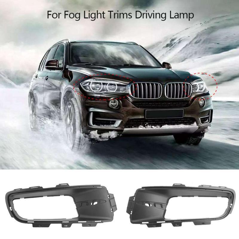 For BMW X5 E70 2007-2010 Car Fog Light Trims Front Bumper Lower Grille Fog Cover