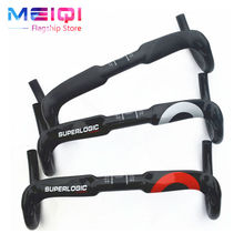 Superlogic carbon handlebar carbon fiber road bike handlebars bent bar  UD gloss C standard broken wind handle 31.8*40/42/44mm