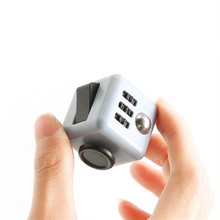 2017 Hot Sale Fidget Cube Decompression Finger Toys Children Adult Favorite Christmas Birthday Gifts Wholesale(China)