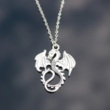 N807 Monster Dragon Pendant Necklace Fashion Jewelry Collares Chain Necklaces Bijoux For Women Men HOT Selling
