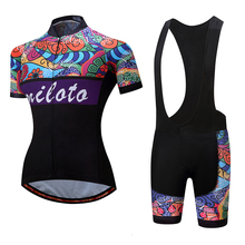 Buy MILOTO Sport Bike Team Racing Cycling Jersey Kits Women Girl's Summer Bicycle Clothing Sets Breathable MTB Bike Jersey Shirts for $26.50 in AliExpress store
