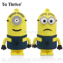 Carton Lovely Minions Power Bank 4000mAh Portable External Battery Charger Mobile Phone - Xingda Cellphone Accessories Store store