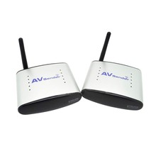 New 2.4G Wireless AV Transmitter & Receiver Audio Video AV Sender Wireless Transmit 150M Support 4 Groups of Channels PAT330