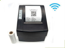 Wirelss POS Thermal receiptprinter 80mm USB+Wifi printer Auto Cutter  for kitchen pos printer