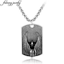 Popular Movie Necklace Grenade Dog Tags Silvery Pendant Cool Male Accessories Punk Style Men's Fashion Jewelry(China)