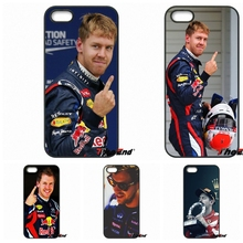 Sebastian Vettel Scuderia Ferrari Phone Case For Samsung Galaxy Note 2 3 4 5 S2 S3 S4 S5 MINI S6 S7 edge Active S8 Plus(China)