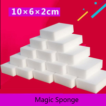 50Pcs White Melamine Sponge Kitchen Bathroom Super Clean Magic Sponge Eraser Pratos Cleaning Esponja Wholesale 100*60*20MM