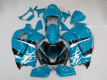 Motorcycle Fairing kit for SUZUKI Hayabusa GSXR1300 96 99 07 GSXR 1300 1996 1999 2007 ABS Blue black Fairings set+7gifts SD08
