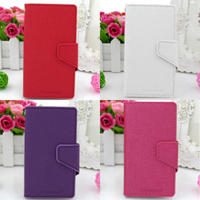 GENMORAL Brand Design PU Leather Cover phone Bag Pouch Skin Shell Case Flip For HTC Wildfire S G13