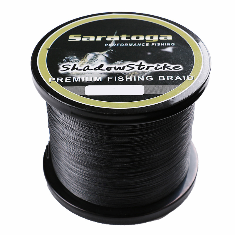 Just for Promotion 2016 New Saratoga 1000m/1100yards 8 Strands 30-80lb 100% PE Braided Fishing Line Multifiament Fishing Wire<br><br>Aliexpress