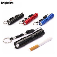 Super Mini Portable LED Flashlight Practical Lamp Waterproof Torch Lights 3 Colors Choose