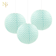 Nicro 11 Color 10'' Round Paper Lanterns Lamp Round Chinese Paper Lantern for DIY Wedding Birthday Party Kids Holiday Decoration