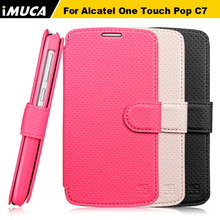 For Alcatel One Touch Pop C7 Case OT 7041 7041D 7040D case cover iMUCA Brand phone accessories with retail package for alcatel(China)