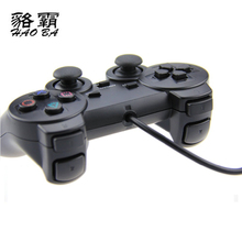 HAOBA 1.8M wired Dual Vibration Controller Gamepad for Sony Playstation 2 PS2 Controller Dualshock 2 Joystick Console(China)
