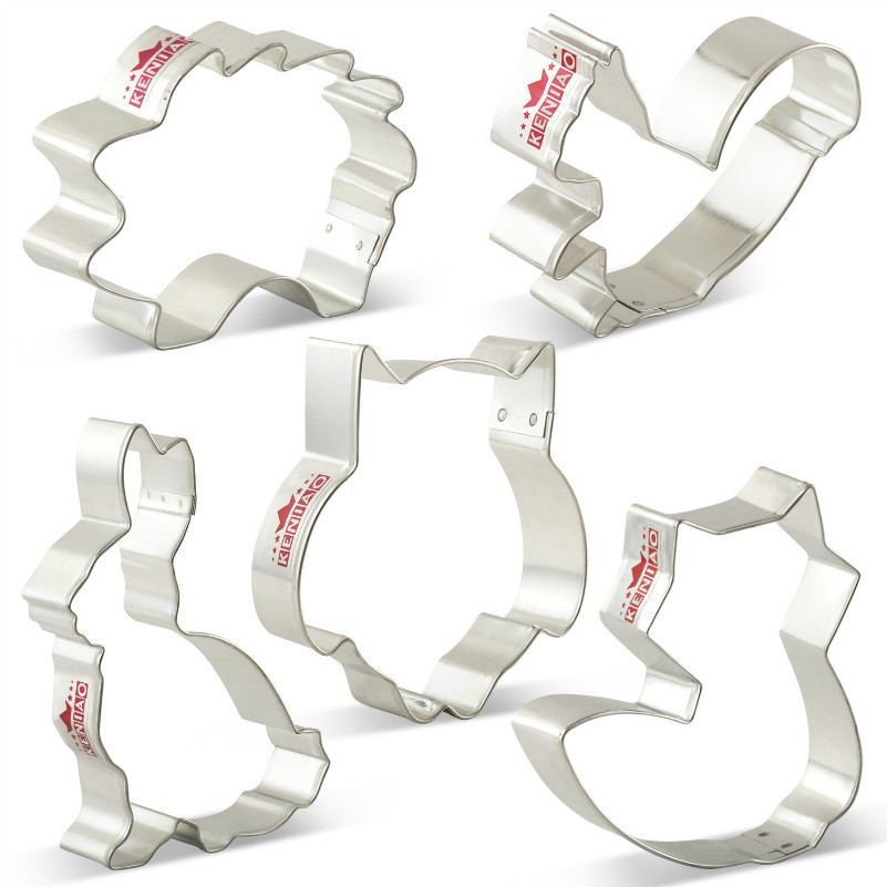 Metal Patisse Stainless Steel Dolphin Design Cookie Cutter
