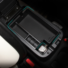 Car organizer for Mitsubishi Outlander ASX 2012-2015 central armrest holder container tray storage box accessories