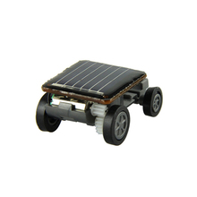 New Excellent Voberry Educational Solar Powered Toy Vehicle Mini Solar Car Educational toy Kit toys for Children