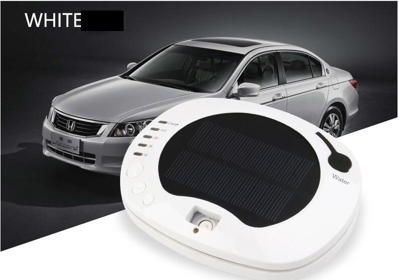 3 Colors Solar battery Air Purifier Aromatherapy oil Air Cleaner For Car Office Home Nanometer Humidifier<br>