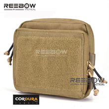 EDC Pouch CORDURA Waist-Organizer Cycling Military TACTICAL REEBOW 1000D Map-Pack MOLLE