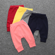 High Quality Girls Boys Candy Color PP Pants Girls Kids Children's Casual Fashion Long Pants Kids Trousers 22(China)