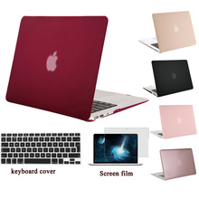 MOSISO for Macbook Pro 13 Retina A1425/A1502 Matte Plastic Hard Case Cover for Mac book Air 13 13.3 Laptop Shell+Keyboard Cover