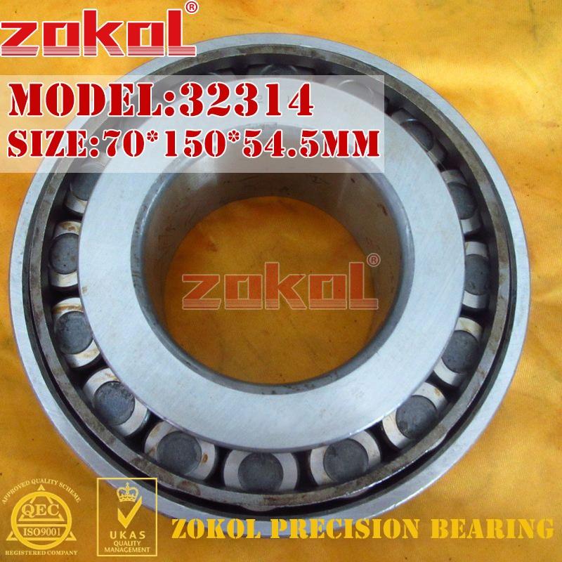 ZOKOL bearing 32314 7614E Tapered Roller Bearing 70*150*54.5mm<br>