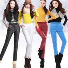 Warm Pants Women's Winter Outer Wear Female Fashion Slim Windproof Thick Down Pants Trousers Large Size XXXL